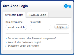 login-swisscom